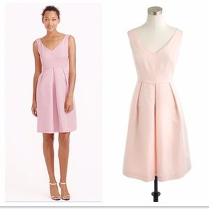 J.Crew Blush Pink Kami Bridesmaid Formal Dress